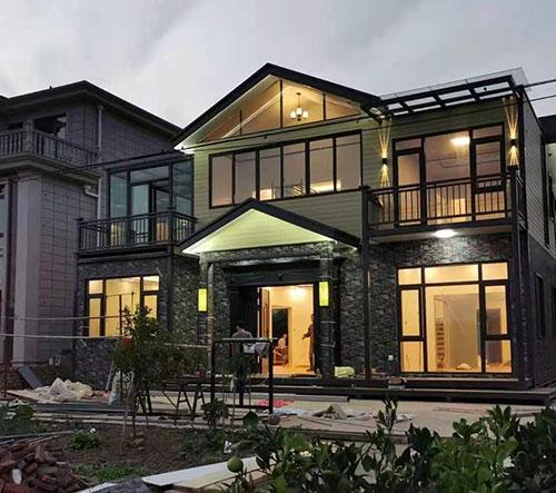 上下层两个小别墅设计