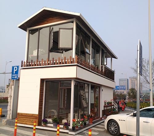 上下层两个小别墅外观